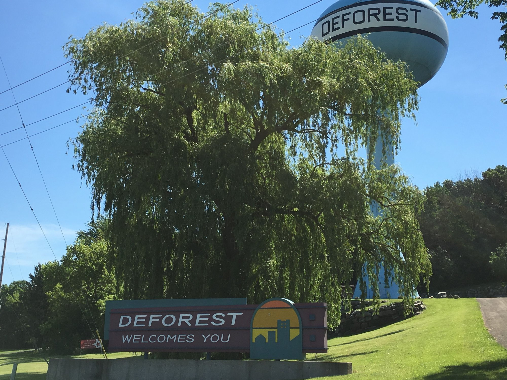 Village of DeForest Sign