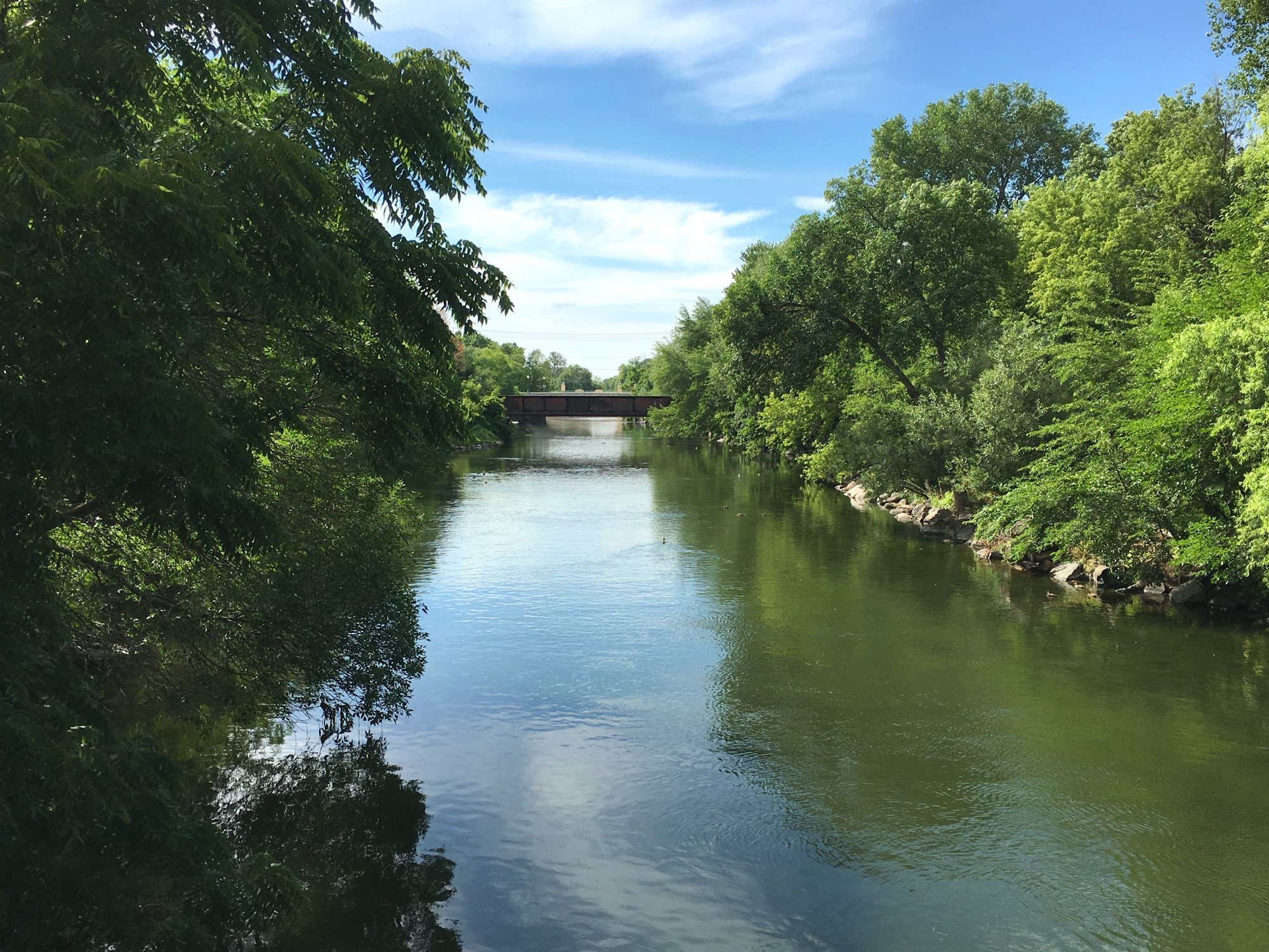 View of the Yahara River