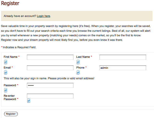 register to view property details