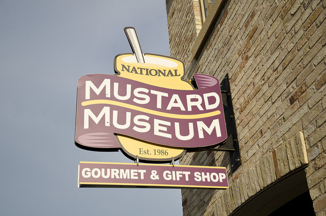 National Mustard Museum - Image Credit: https://www.flickr.com/photos/eblake/14452180087