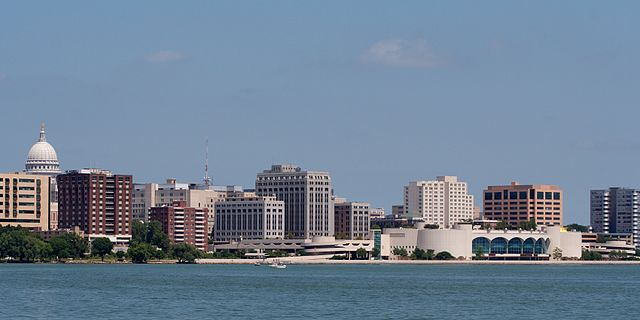 Wisconsin - Image Credit: http://en.wikipedia.org/wiki/File:Madison_Wisconsin_img_1196.jpg