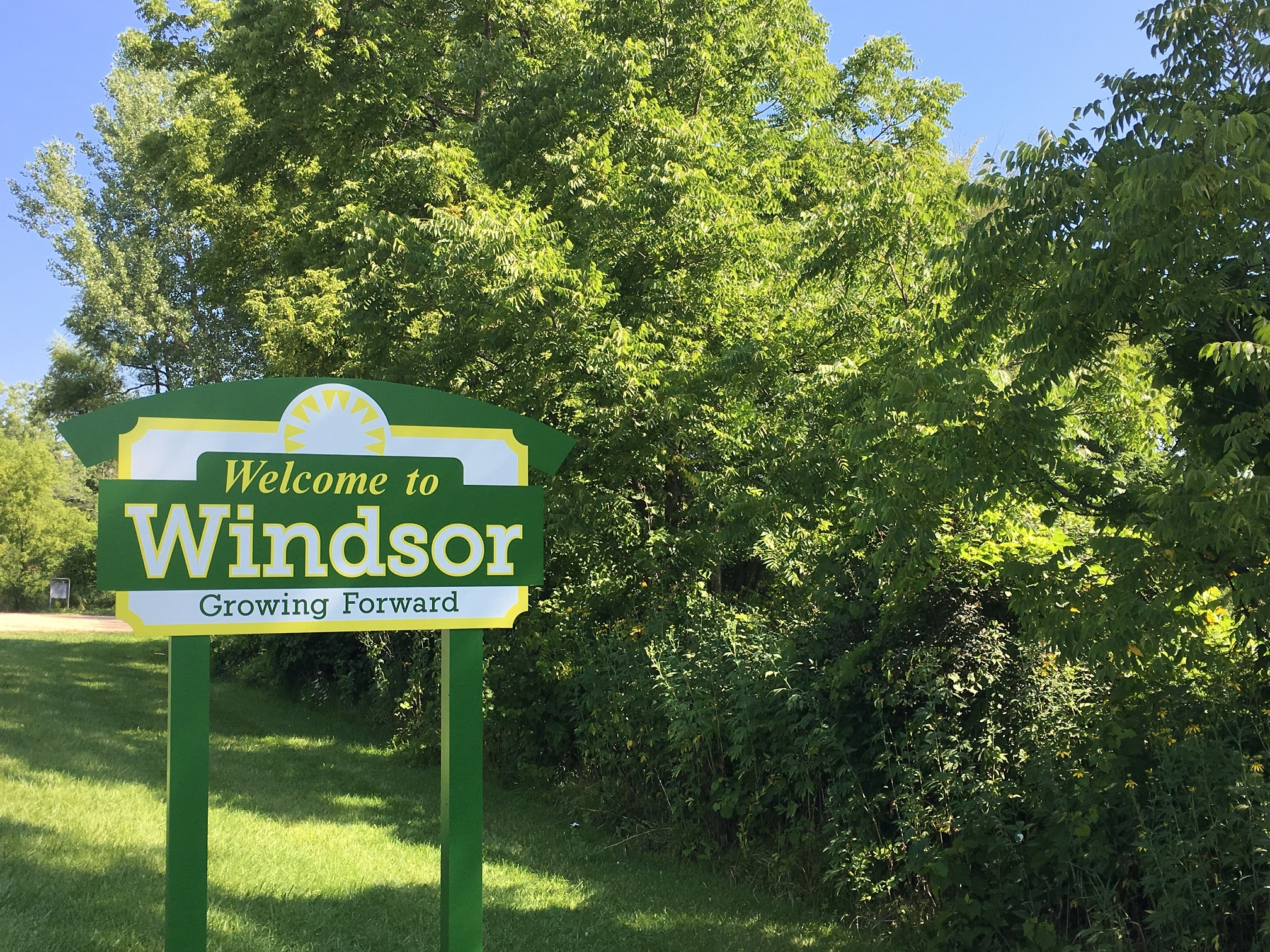 Town of Windsor Sign