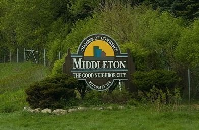 Middleton WI Neighborhood Sign