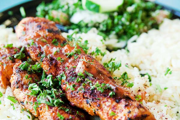 Chicken Kabob - Image Credit: https://www.flickr.com/photos/stevendepolo/4972704036/