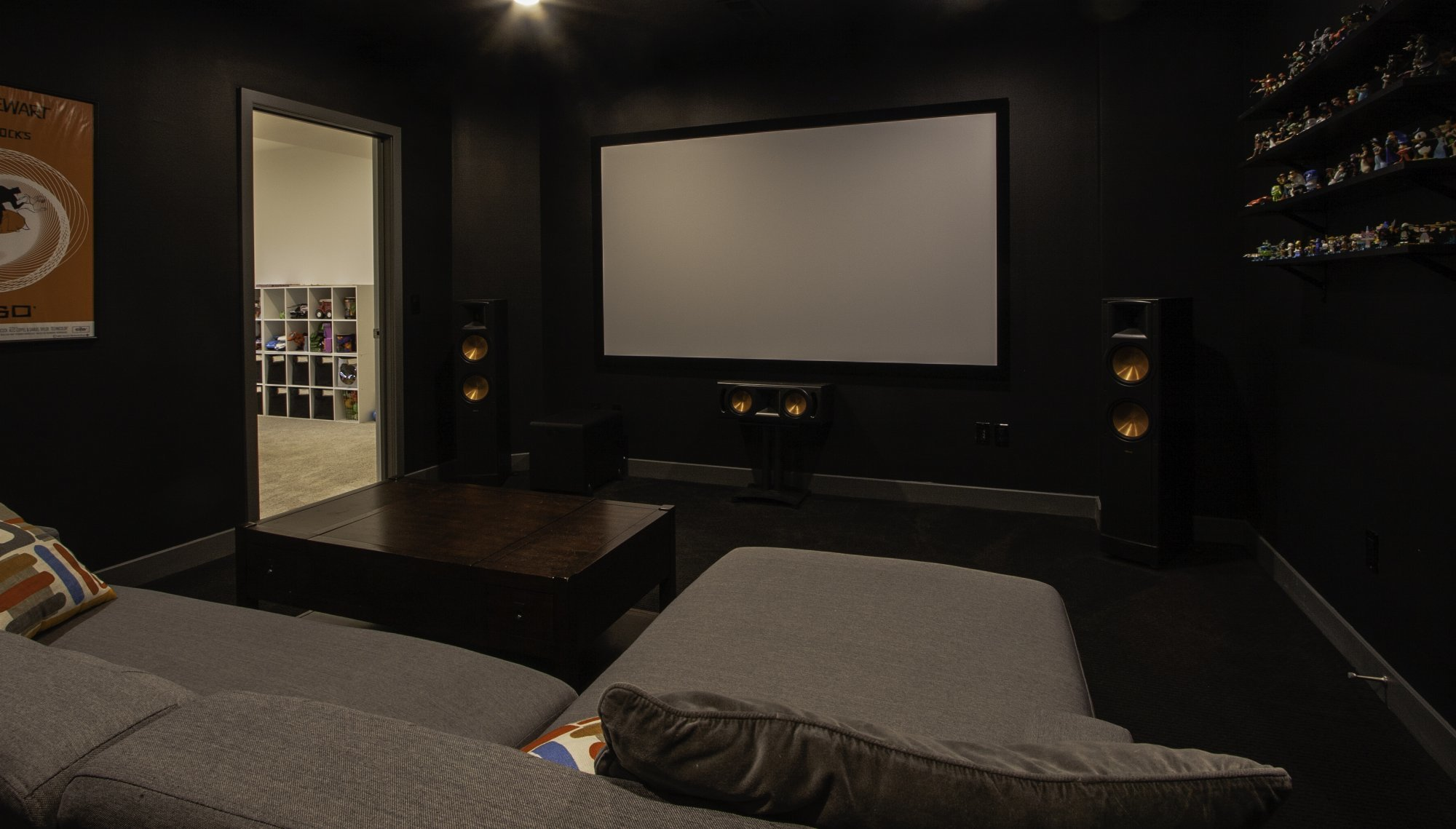 Media and Theatre Room